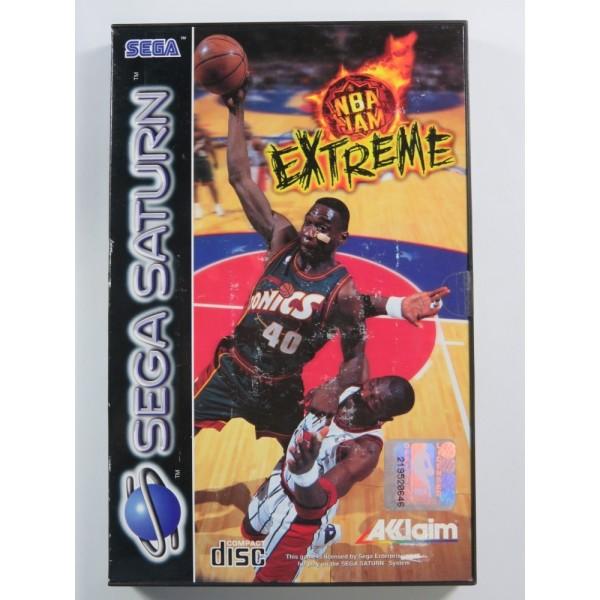 NBA JAM EXTREME SEGA SATURN PAL-EURO BRAND NEW - NEUF