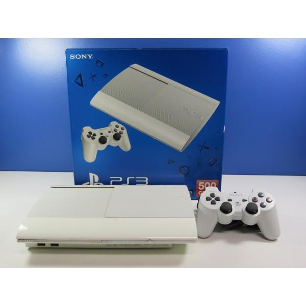 CONSOLE PS3 ULTRA SLIM 500 GB WHITE PS3 EURO OCCASION