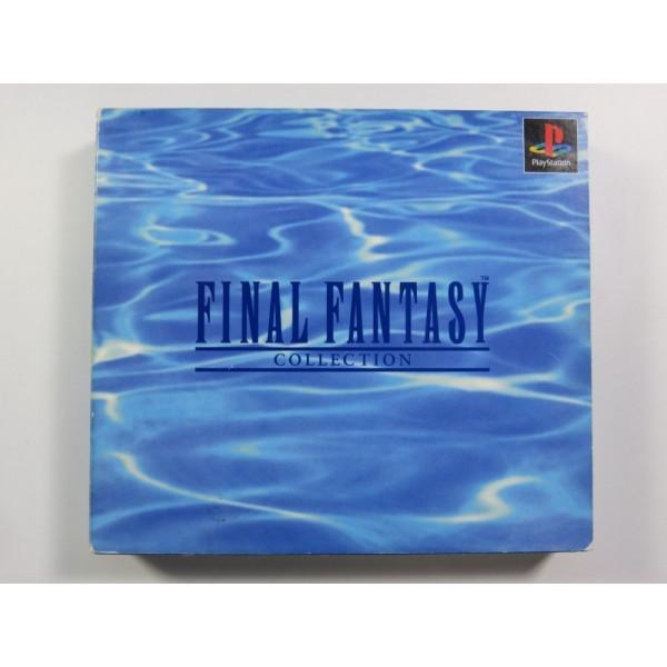 FINAL FANTASY COLLECTION PLAYSTATION 1 (PS1) NTSC-JPN (SANS FOURREAU NI NOTICE)