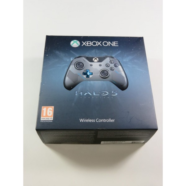 CONTROLLER - MANETTE WIRELESS HALO 5 GUARDIANS LIMITED EDITION XBOX ONE EURO (COMPLET - GOOD CONDITION)