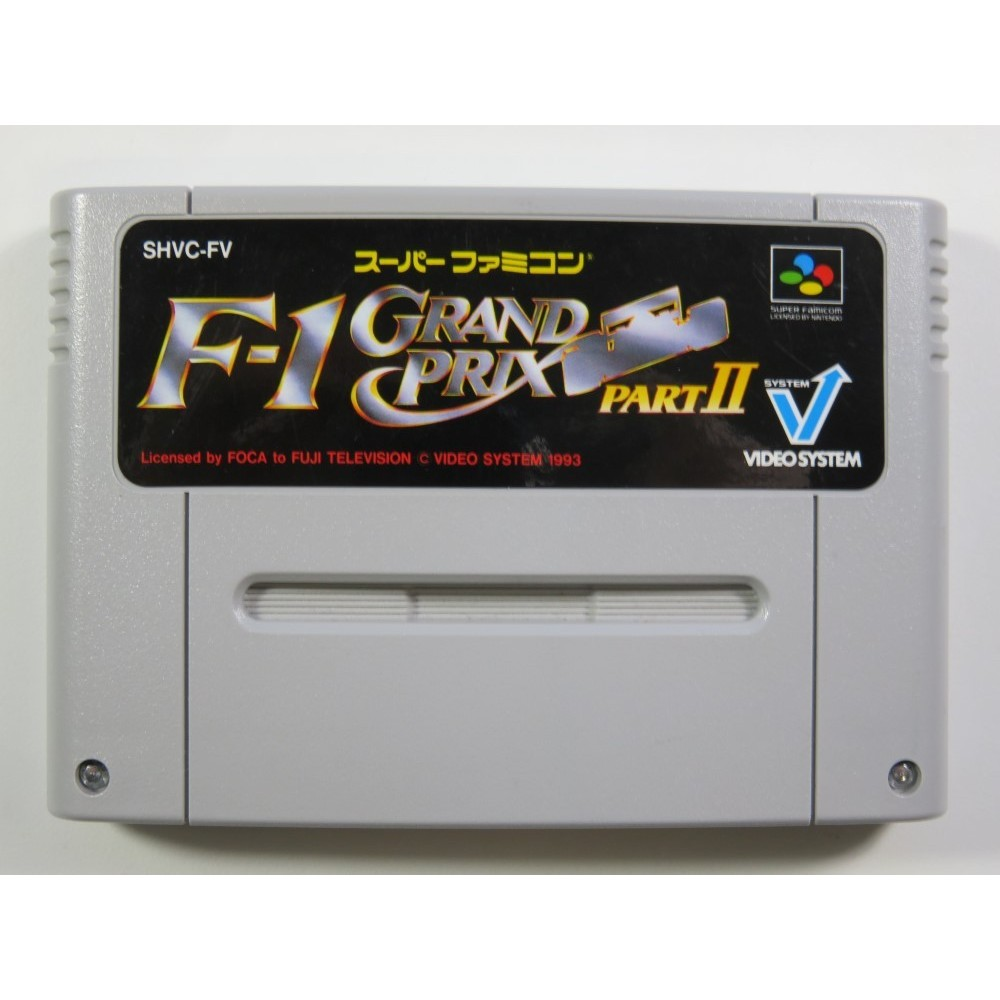 F-1 GRAND PRIX PART II SUPER FAMICOM (SFC) NTSC-JPN (CARTRIDGE ONLY)