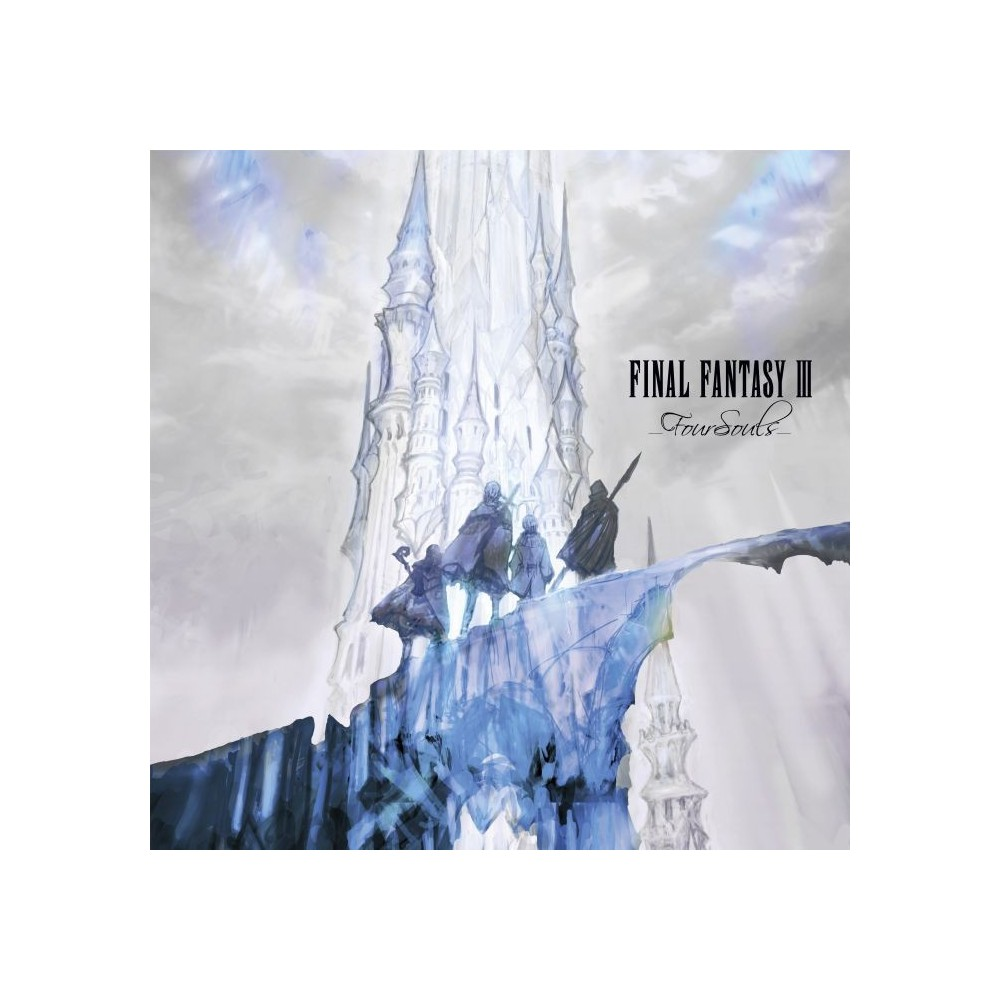 VINYLE FINAL FANTASY III FOUR SOULS VERSION NEW