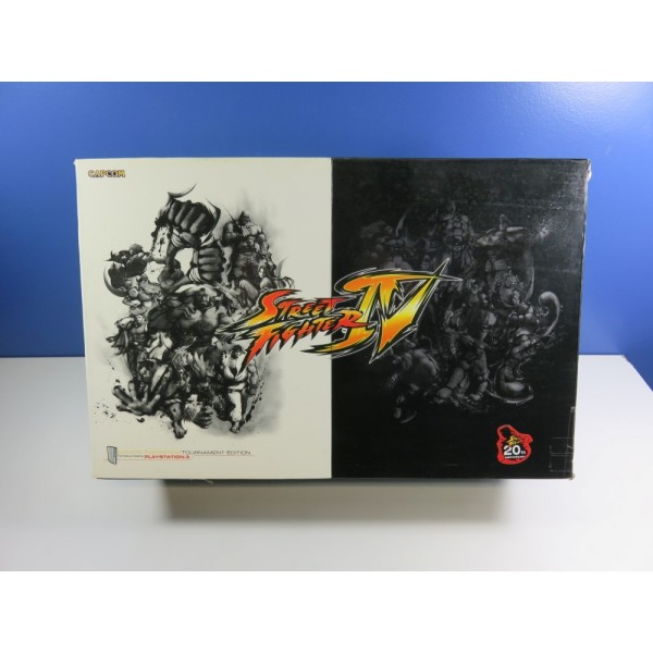 ARCADE STICK STREET FIGHTER IV TOURNAMENT EDITION (1 ST EDITION) PLAYSTATION 3 (PS3) (WITHOUT MANUAL - GOOD CONDITION)
