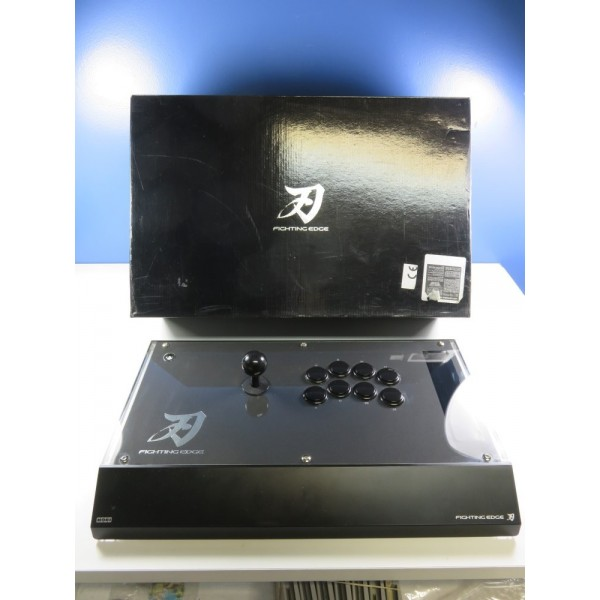 ARCADE STICK FIGHTING EDGE SONY PLAYSTATION 3 (PS3) (WITHOUT MANUAL - GOOD CONDITION OVERALL)