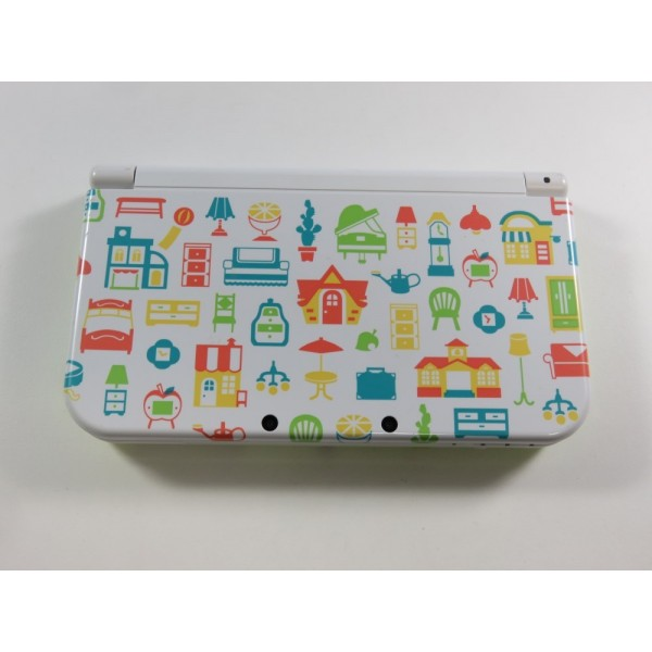 CONSOLE NINTENDO NEW 3DS XL ANIMAL CROSSING PAL-EURO (CONSOLE ONLY - GOOD CONDITION OVERALL)