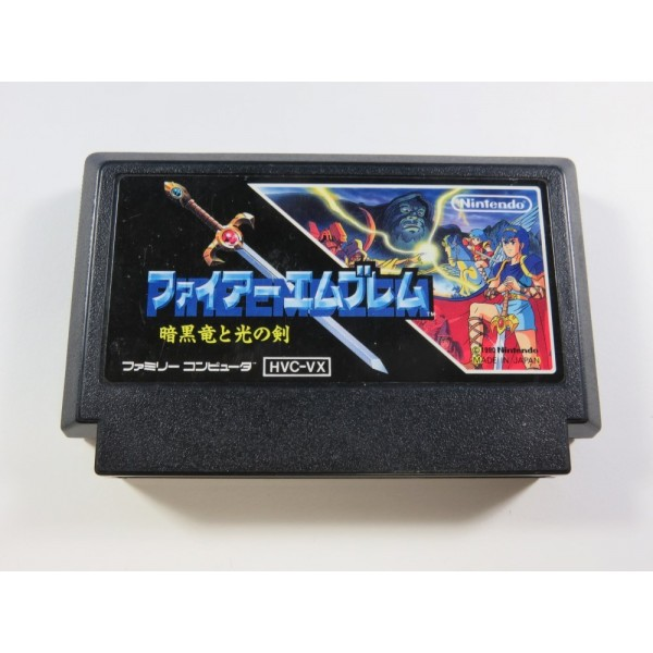 FIRE EMBLEM ANKOKURYU TO HIKARI NO TSURUGI FAMICOM (FC) NTSC-JPN (CARTRIDGE ONLY - GOOD CONDITION)