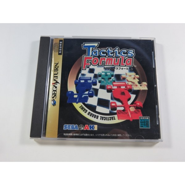 TACTICS FORMULA SEGA SATURN NTSC-JPN (COMPLET - GOOD CONDITION)(WITH SPINE CARD)
