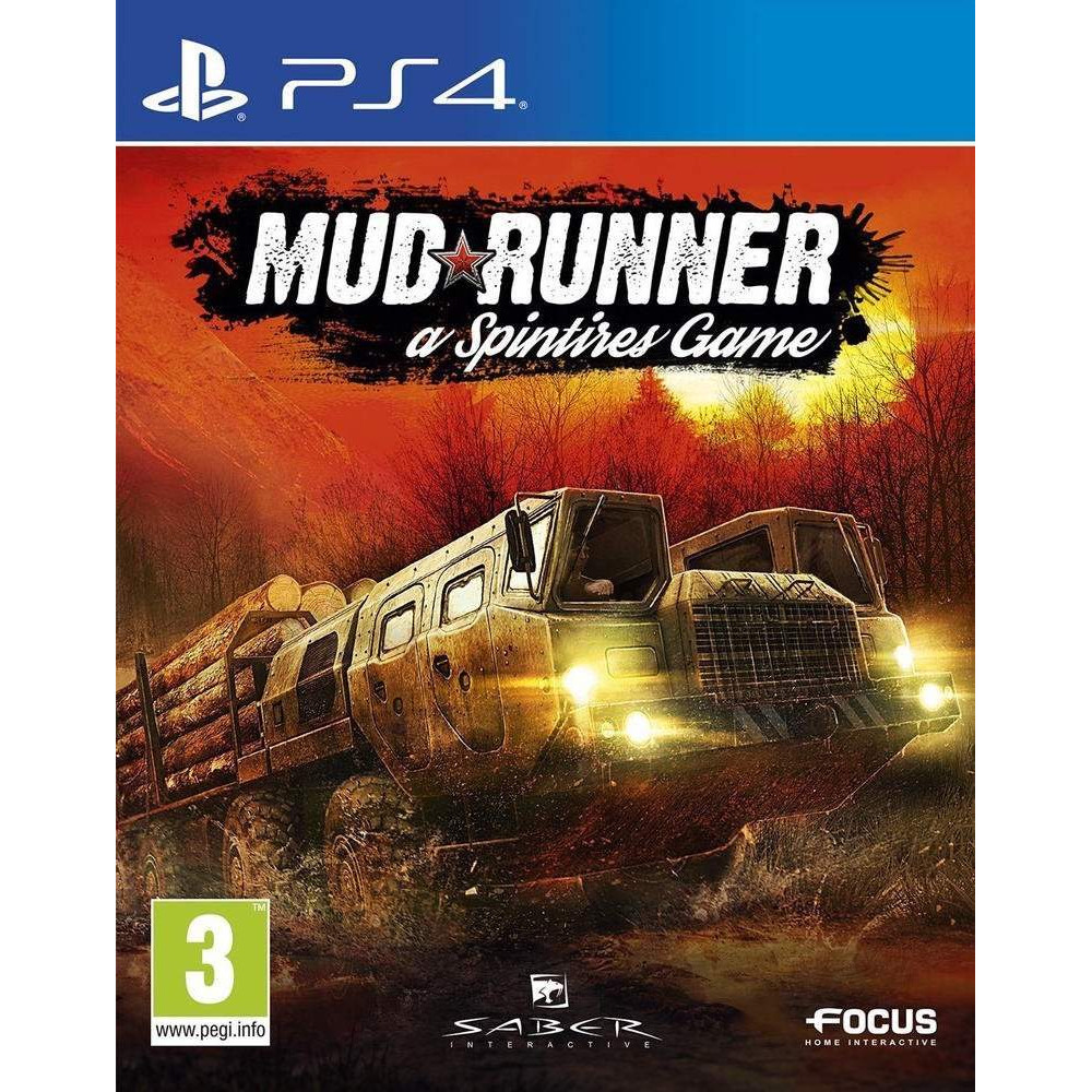MUD RUNNER A SPINTIRES GAME PS4 FR OCCASION