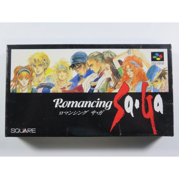 ROMANCING SAGA SUPER FAMICOM (SFC) NTSC-JPN ( SANS NOTICE - GOOD CONDITION OVERALL )