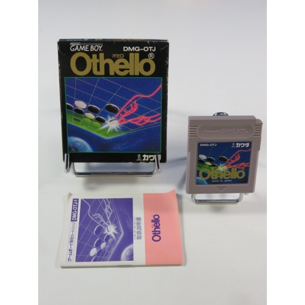OTHELLO NINTENDO GAMEBOY (GB) JPN (COMPLET - GOOD CONDITION OVERALL)