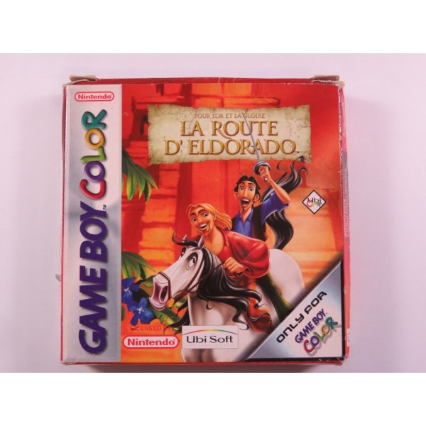 LA ROUTE D ELDORADO GAMEBOY COLOR (GBC) EUR (COMPLETE)