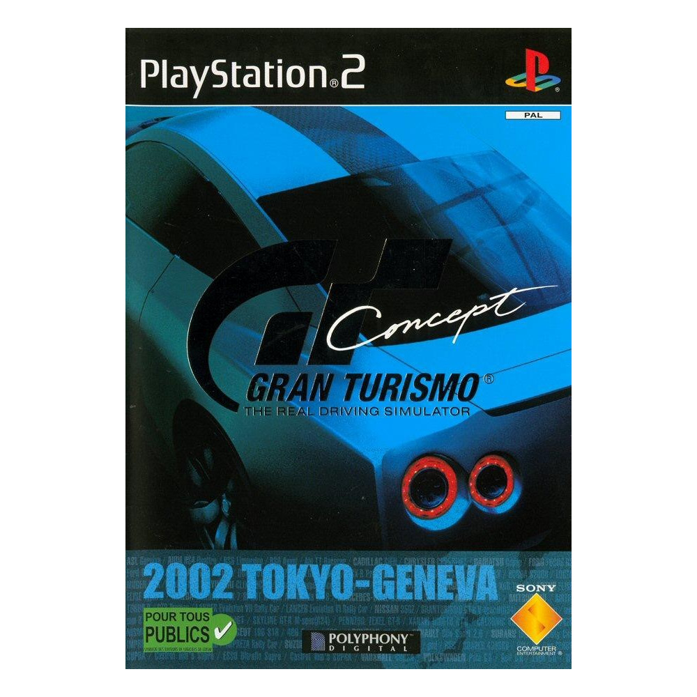 GRAN TURISMO CONCEPT PS2 PAL-FR OCCASION