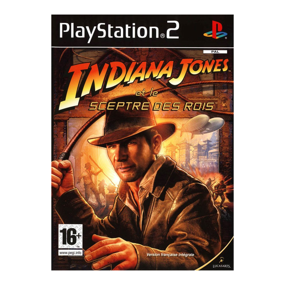 INDIANA JONES ET LE SCEPTRE DES ROIS PS2 PAL-FR OCCASION