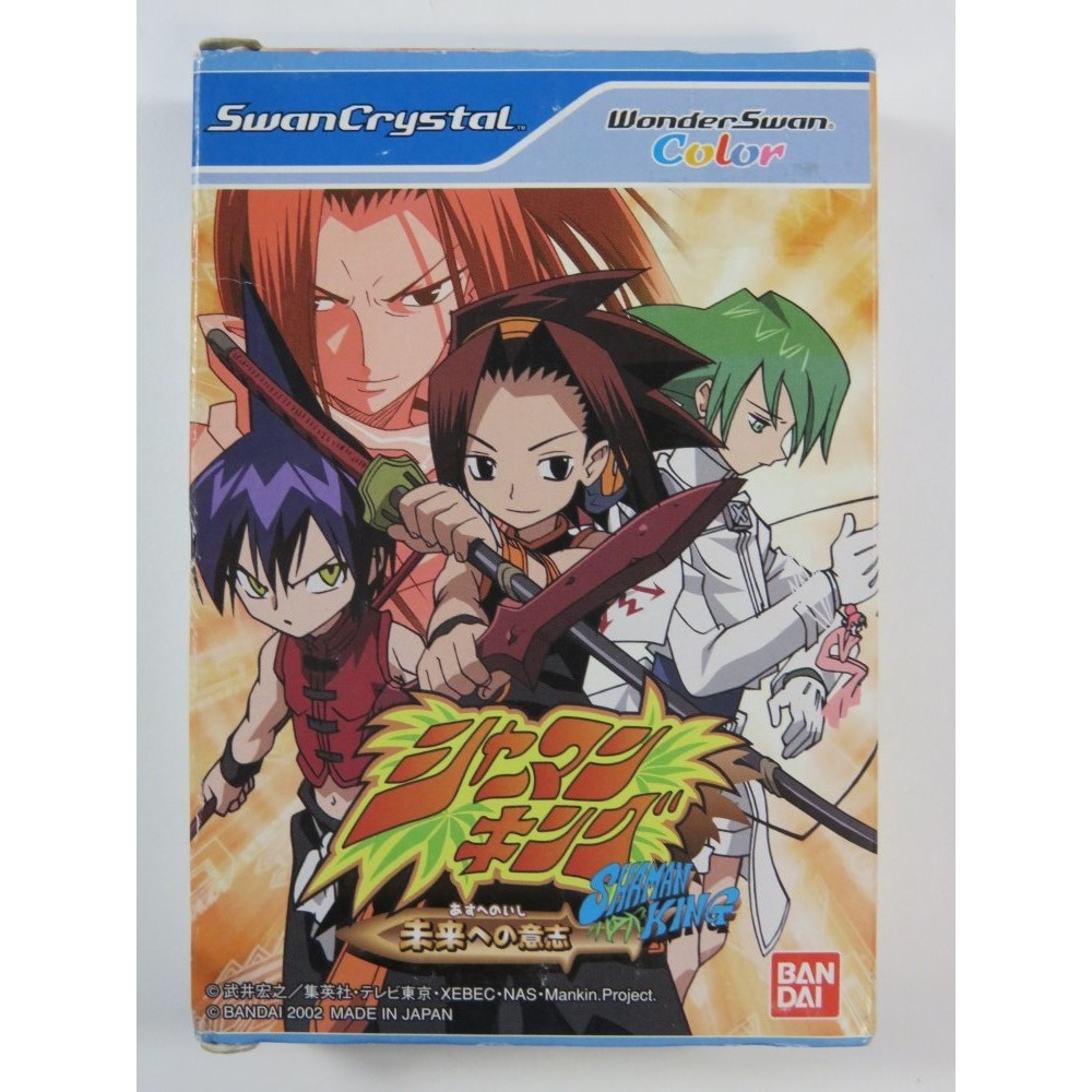 SHAMAN KING: WILL OF FUTURE WONDERSWAN COLOR JPN (COMPLETE WITH REG CARD - GOOD CONDITIN OVERALL)