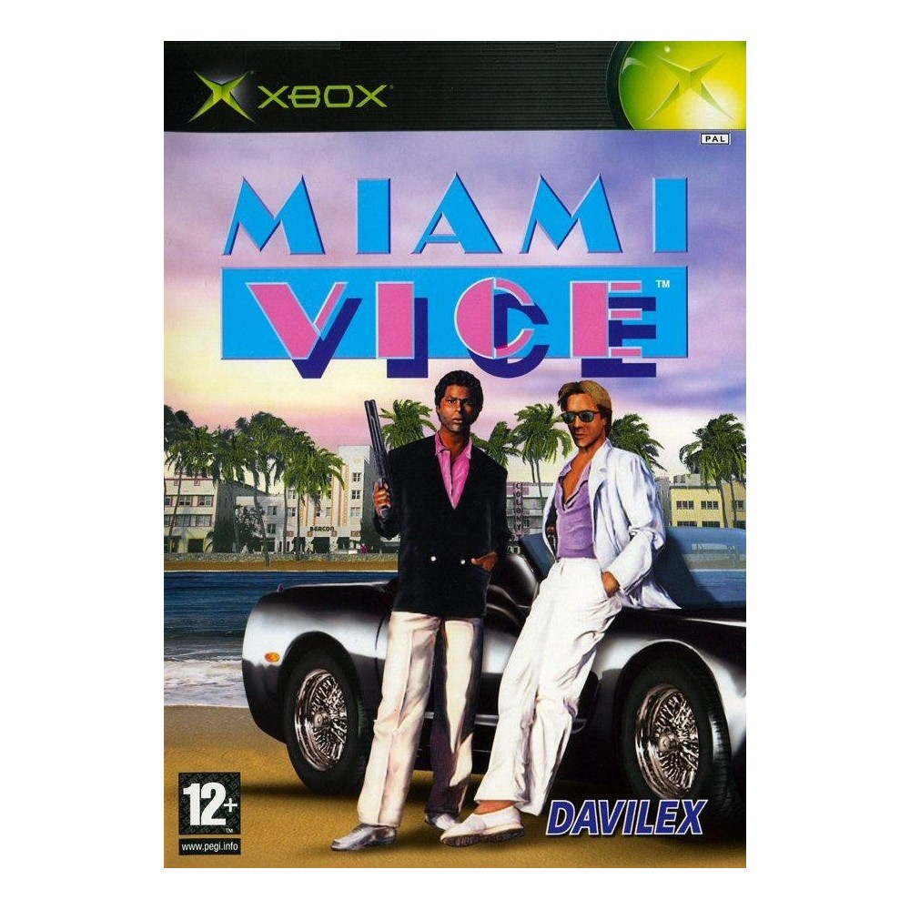 MIAMI VICE XBOX PAL-FR OCCASION