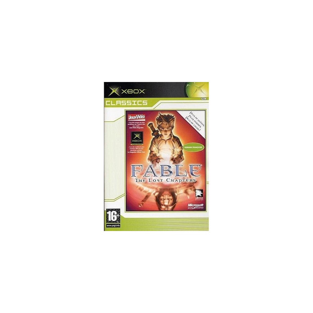 FABLE THE LOST CHAPTERS (CLASSICS) XBOX PAL-FR OCCASION