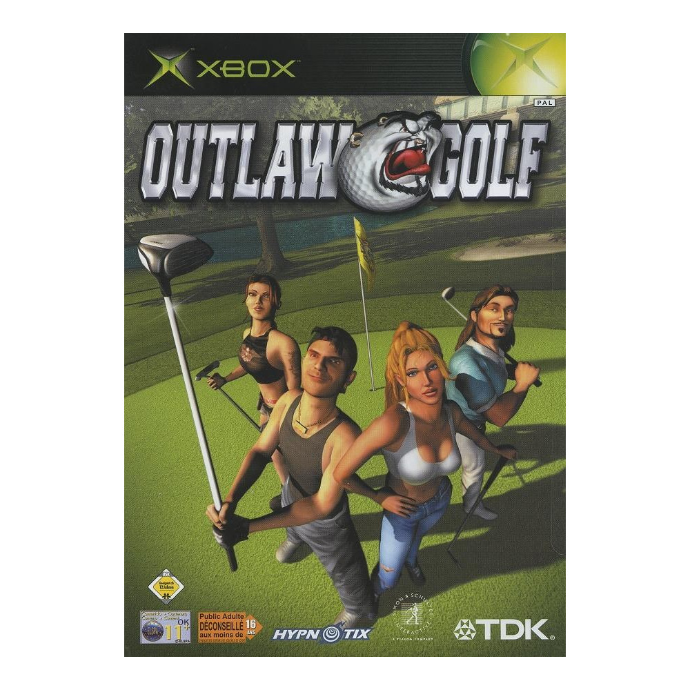 OUTLAW GOLF XBOX PAL-FR OCCASION SANS NOTICE