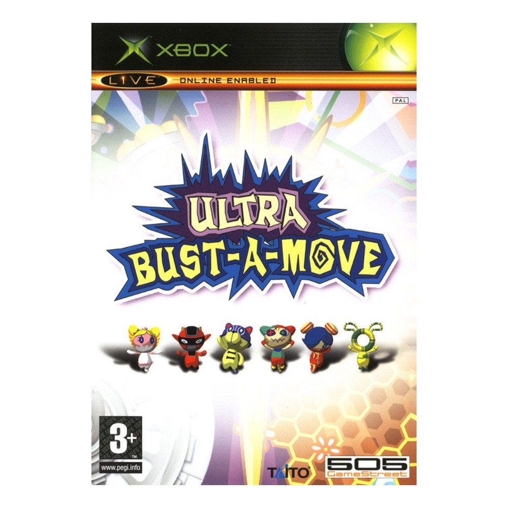 ULTRA BUST A MOVE XBOX PAL-EURO OCCASION