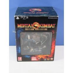 MORTAL KOMBAT (9) EDITION KOLLECTOR PS3 FR (COMPLET - GOOD CONDITION)