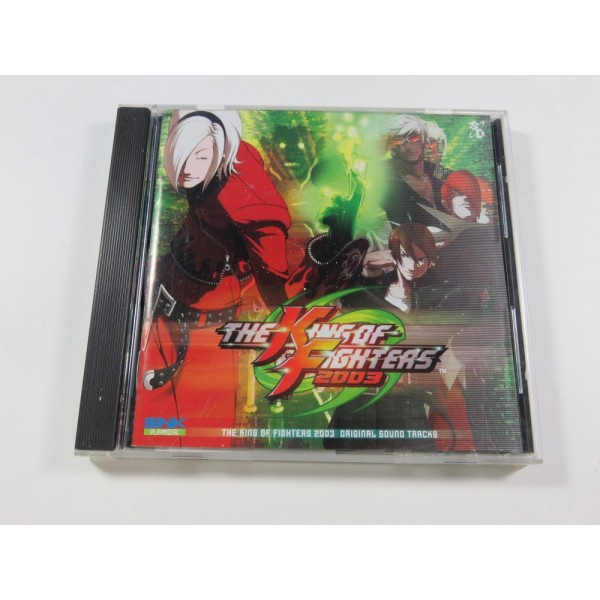 THE KING OF FIGHTERS 2003 ORIGINAL SOUNDTRACK JPN (COMPLET - GOOD CONDITION)(WITH SPINE CARD)(SNK PLAYMORE OFFICIAL)