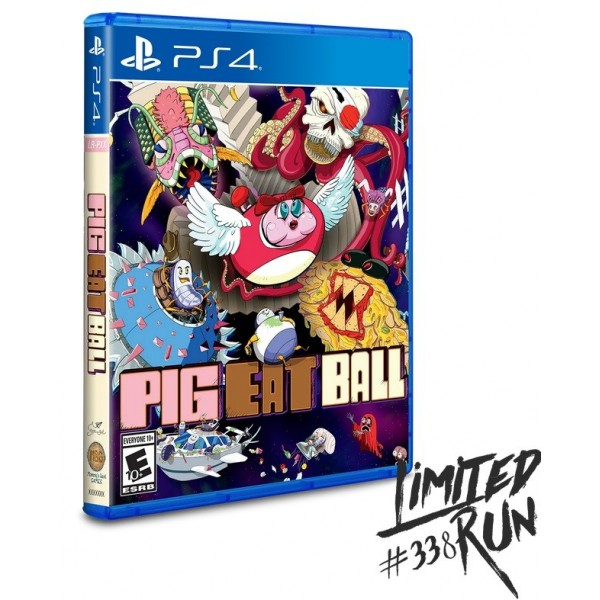 PIG EAT BALL PS4 US NEW(LIMITED RUN GAMES)