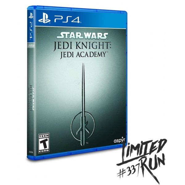 STAR WARS JEDI KNIGHT JEDI ACADEMY PS4 US NEW(LIMITED RUN GAMES)