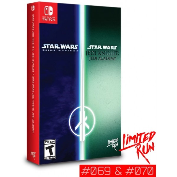 STAR WARS JEDI KNIGHT BUNDLE JEDI ACADEMY & JEDI OUTCASTS SWITCH US NEW(LIMITED RUN GAMES)