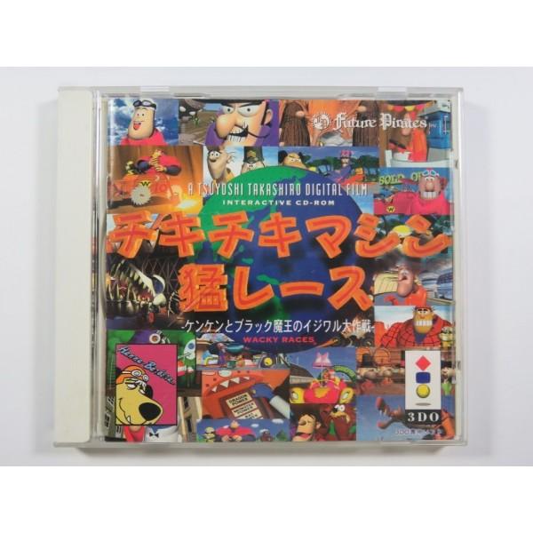CHIKI CHIKI MACHINE MOU-RACE / WACKY RACES 3DO NTSC-JPN OCCAION
