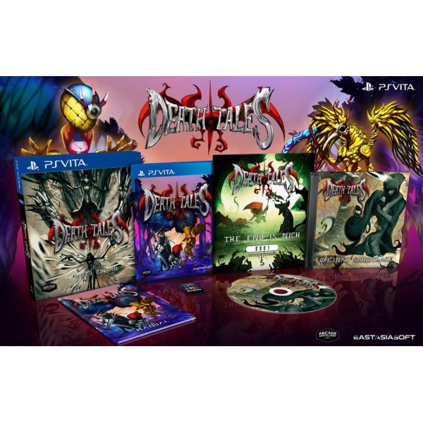 DEATH TALES LIMITED EDITION PSVITA ASIAN AVEC TEXTE EN ANGLAIS NEW