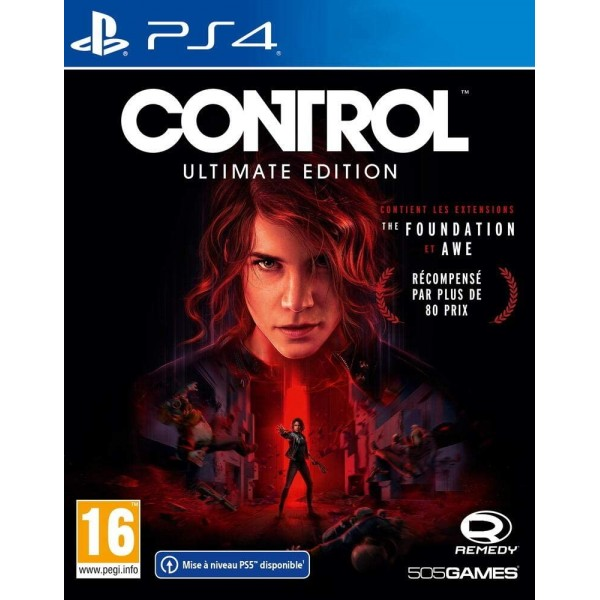 CONTROL ULTIMATE EDITION PS4 UK OCCASION