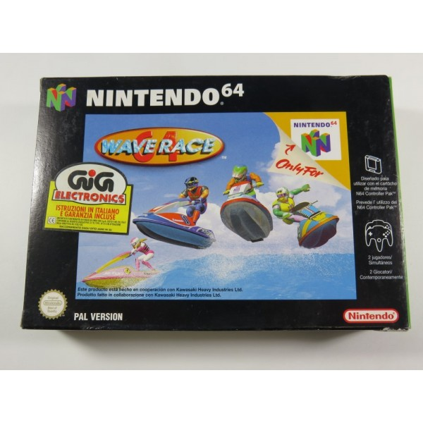 WAVE RACE 64 NINTENDO 64 (N64) PAL-NEAI (COMPLETE - GOOD CONDITION)