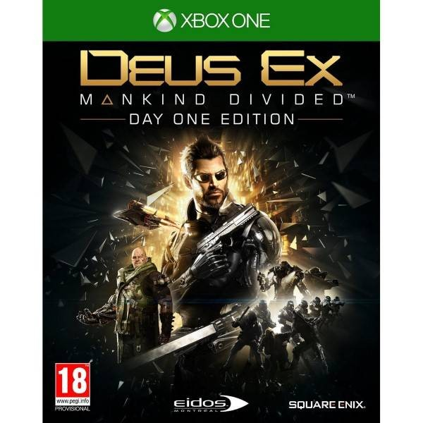 DEUS EX MANKIND DIVIDED DAY ONE XONE EURO FR