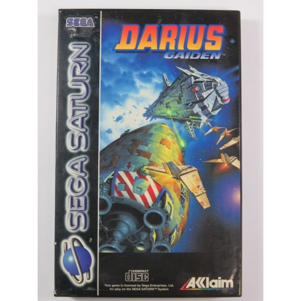 DARIUS GAIDEN SEGA SATURN PAL-EURO (COMPLETE - GOOD CONDITION OVERALL)