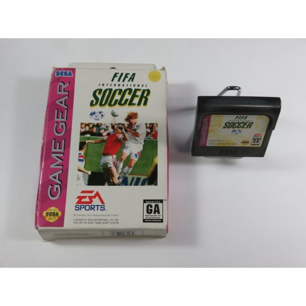 FIFA INTERNATIONAL SOCCER SEGA GAMEGEAR USA (WITHOUT MANUAL - GOOD CONDITION)