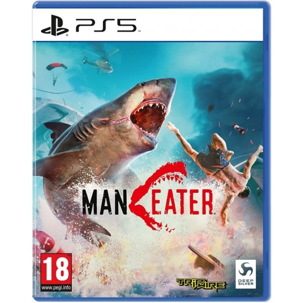 MANEATER PS5 UK NEW