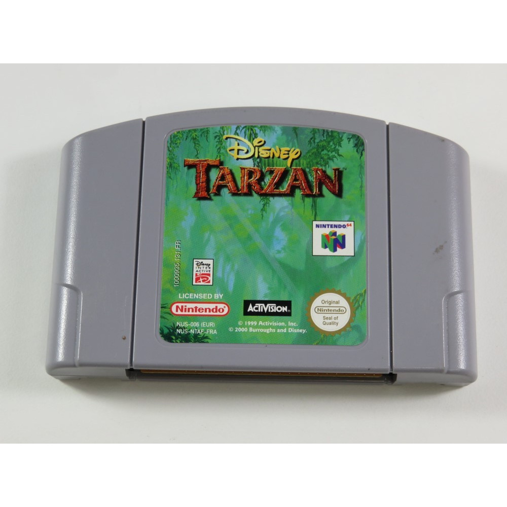 DISNEY TARZAN NINTENDO 64 (N64) PAL-FRA (CARTRIDGE ONLY - GOOD CONDITION)