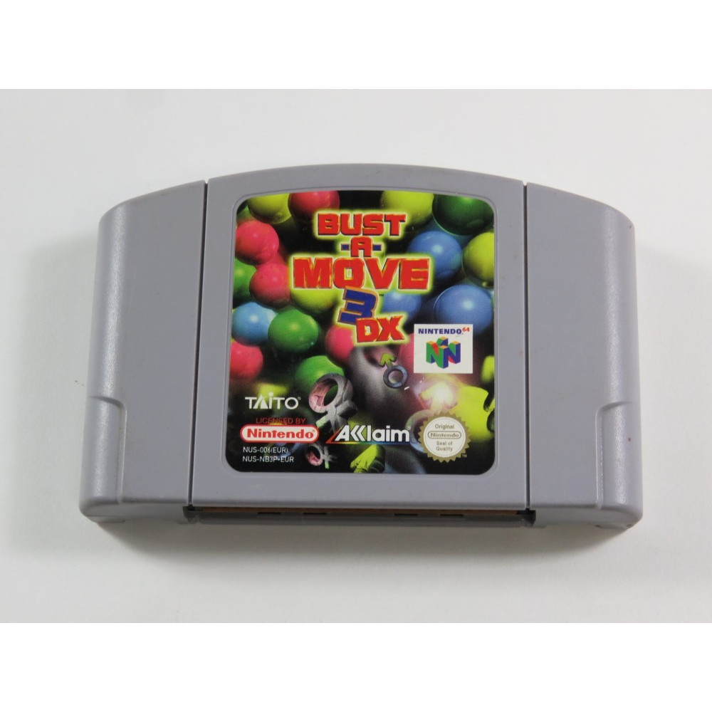BUST A MOVE 3DX N64 PAL-EUR OCCASION