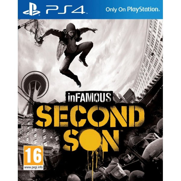 INFAMOUS SECOND SON PS4 VF