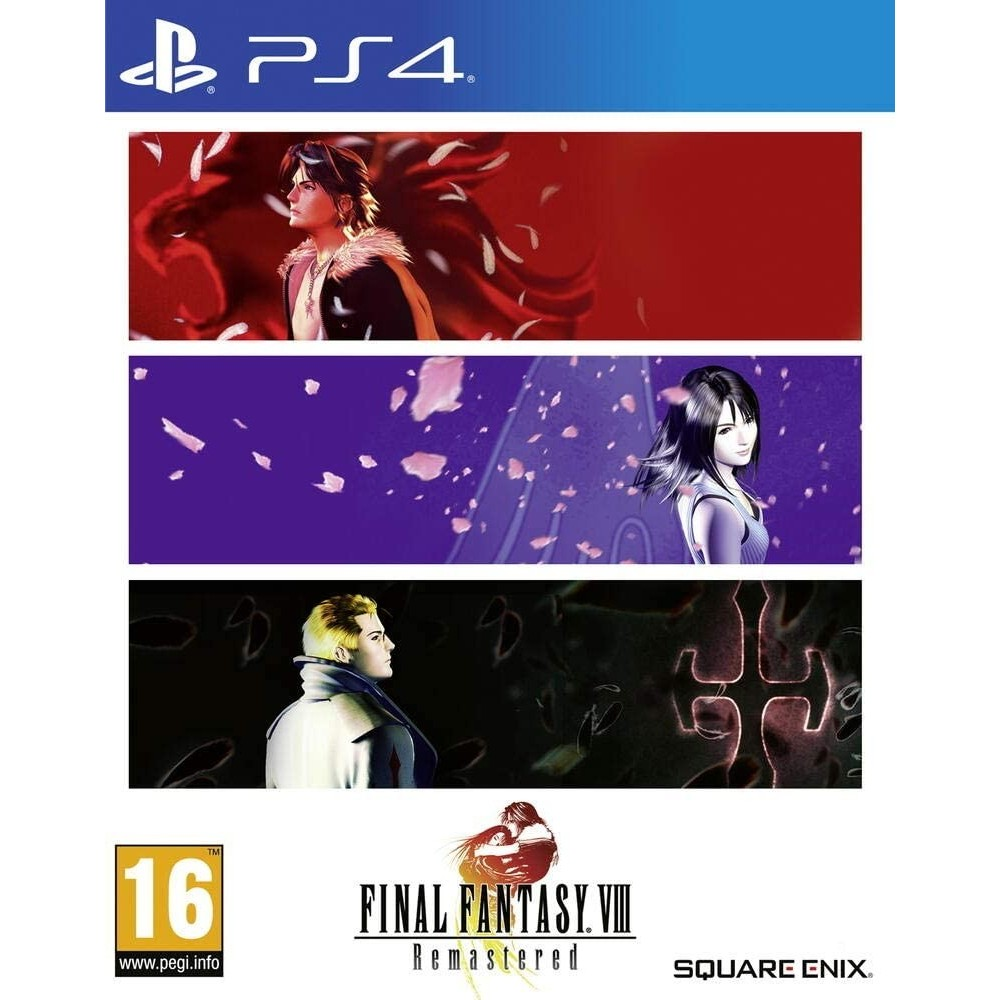 FINAL FANTASY VIII REMASTERED PS4 FR OCCASION