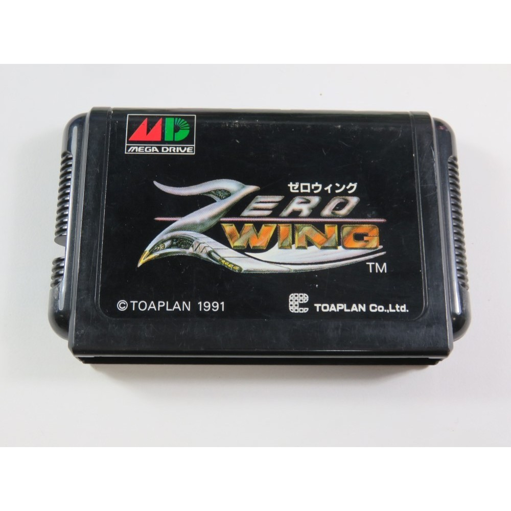 ZERO WING SEGA MEGADRIVE NTSC-JPN (CARTRIDGE ONLY - GOOD CONDITION)
