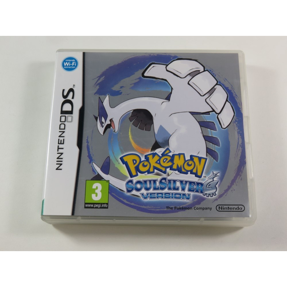 POKEMON SOULSILVER VERSION NDS UKV (COMPLET)(TEXTS IN ENGLISH - JEU EN ANGLAIS)(WITHOUT SLEEVE - POKEWALKER)