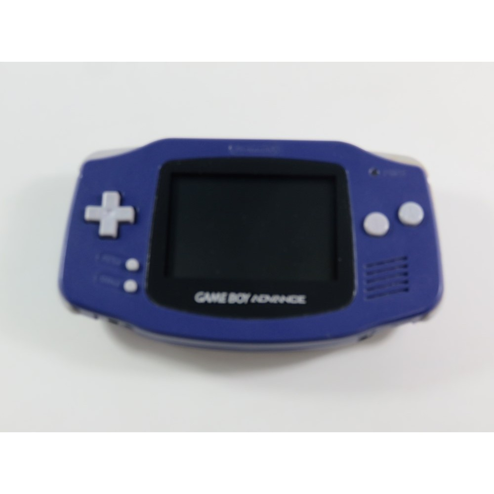 CONSOLE NINTENDO GAMEBOY ADVANCE (GBA) PURPLE AGB-001 EUR (LOOSE - GOOD CONDITION)(SERIAL AC12891629)