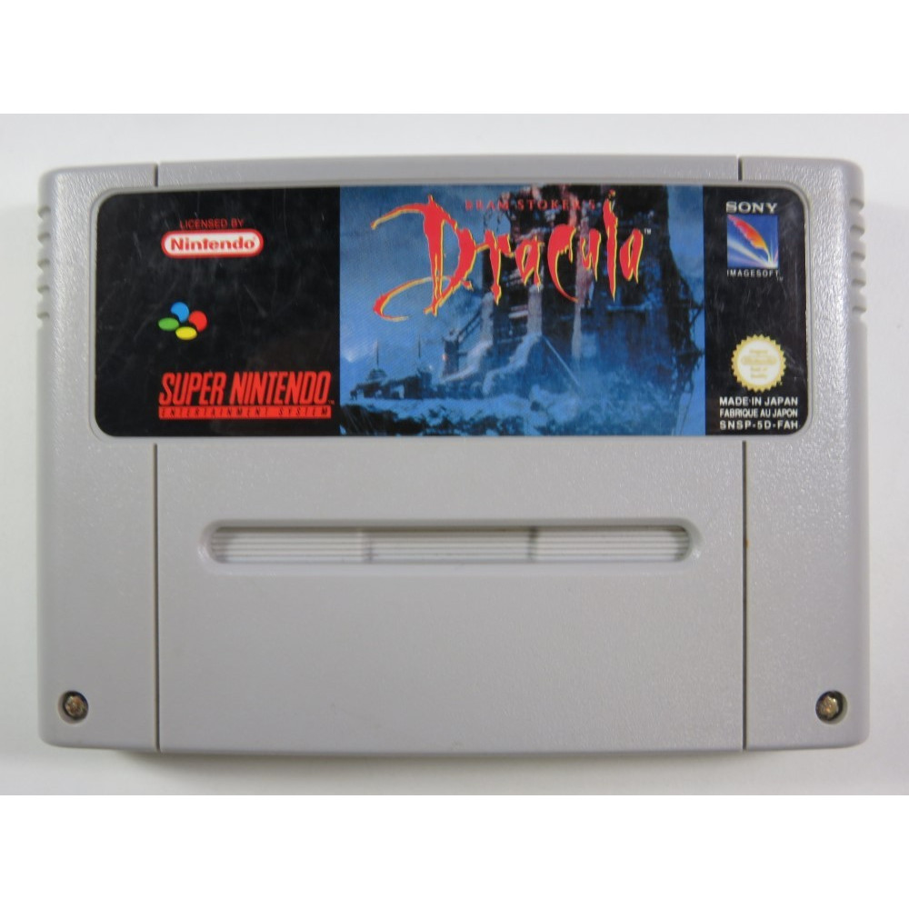 BRAM STOKER S DRACULA SUPER NINTENDO (SNES) PAL-FAH (CARTRIDGE ONLY - GOOD CONDITION)