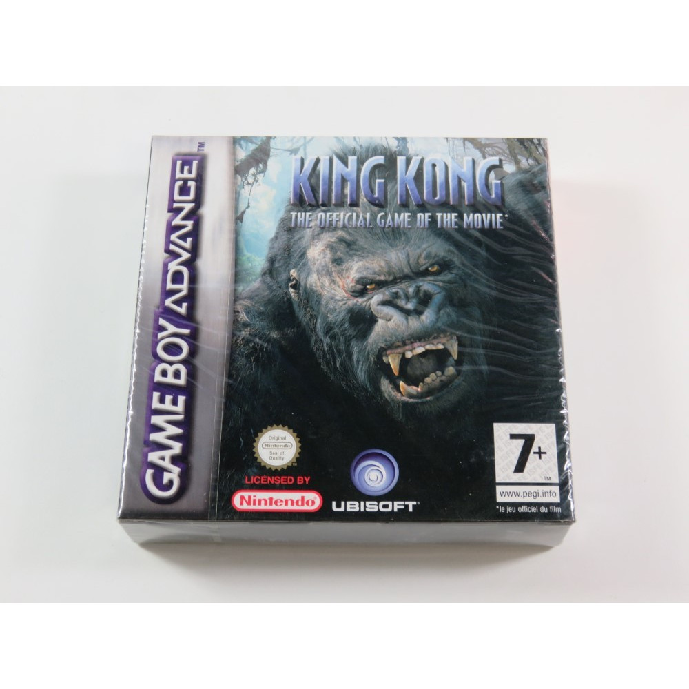 KING KONG - THE OFFICIAL GAME OF THE MOVIE GAMEBOY ADVANCE (GBA) EURO NEUF - BRAND NEW