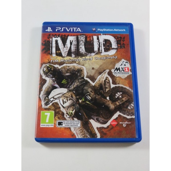 MUD:MOTOCROSS WORLD CHAMPIONSHIP SONY PSVITA FR (COMPLET - GOOD CONDITION)