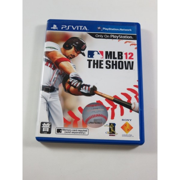 MLB 12 - THE SHOW SONY PSVITA ASIA (COMPLET - GOOD CONDITION)