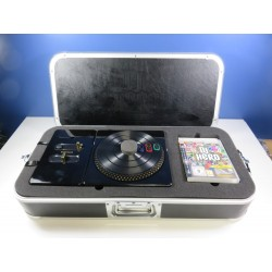 DJ HERO RENEGADE EDITION SONY PLAYSTATION 3 (PS3) EURO (BOXED)(COMPLET - GOOD CONDITION)(WITH TURNTABLE - PLATINE)
