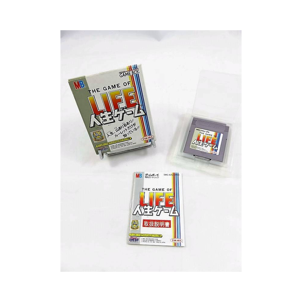 THE GAME OF LIFE JINSEI GAME GAMEBOY JPN OCCASION