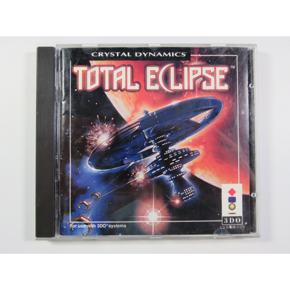 TOTAL ECLIPSE 3DO NTSC-JPN (COMPLETE WITH SPIN CARD)
