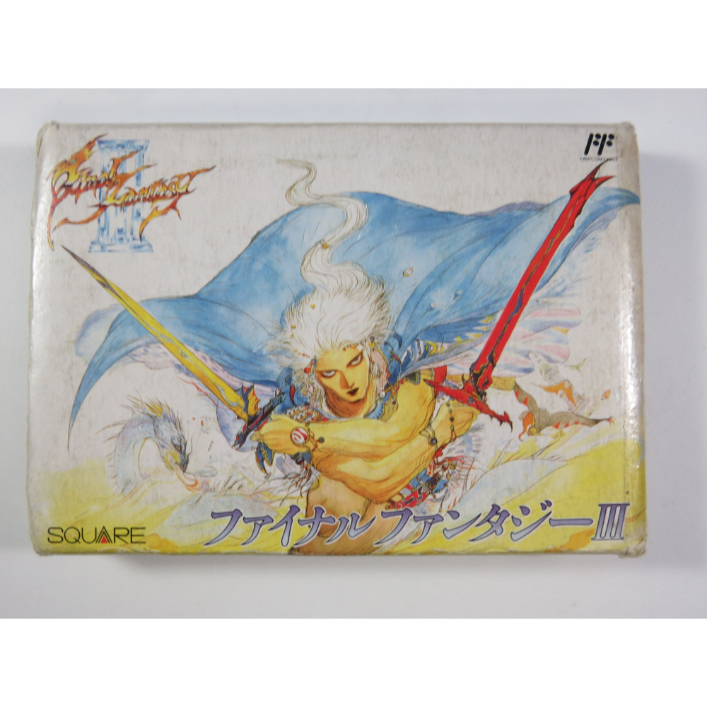 FINAL FANTASY III FAMICOM OCCASION